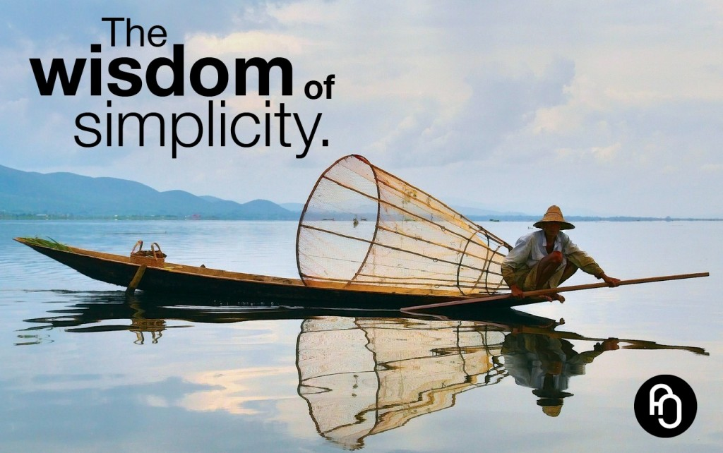 The widom of simplicity