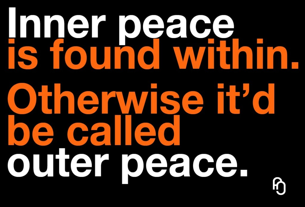 inner peace outer peace