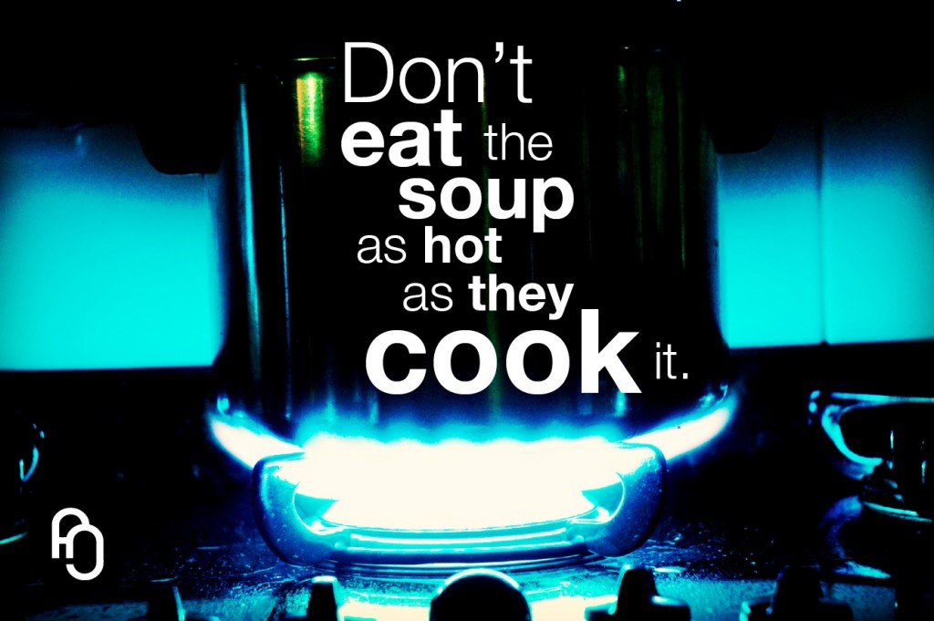 The soup is ok