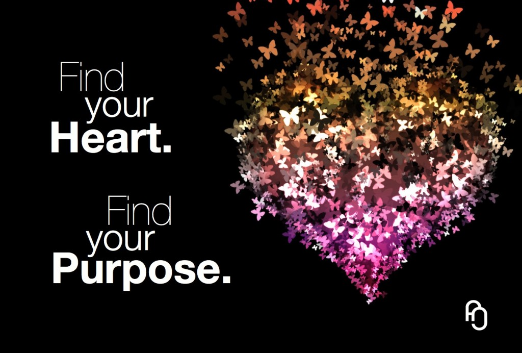 find your heart find your purpose