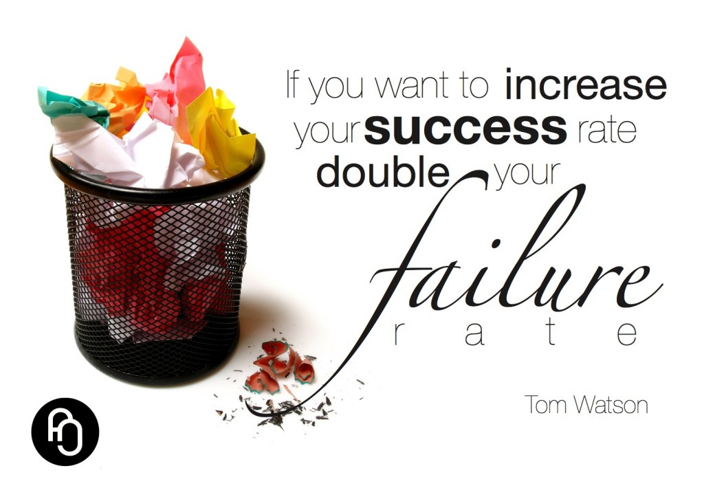Failure is the foundation of success
